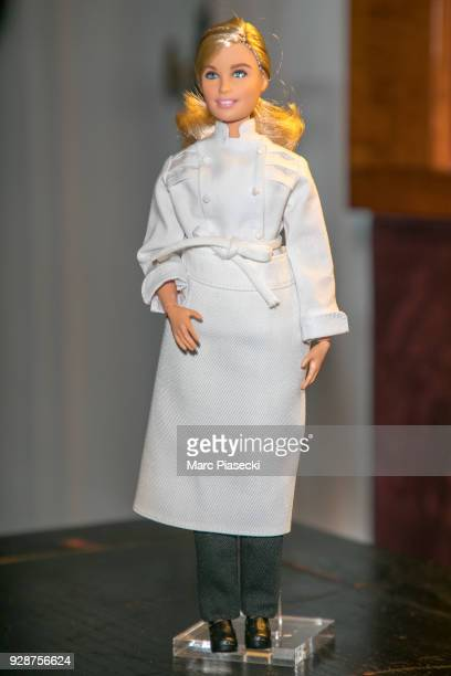 A closeup at Helene Darroze WorldRenowned Chef France Inspirational fourthgeneration French chef with three restaurants and two Michelin stars Barbie...