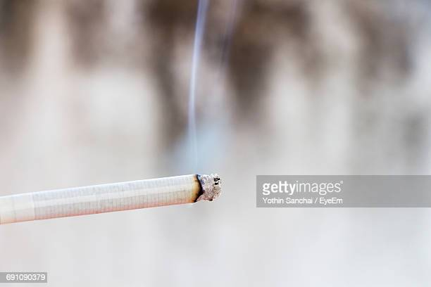 close-up cigarette - cigarette stock pictures, royalty-free photos & images