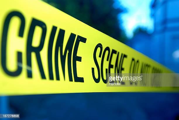 Close-up Crime Scene