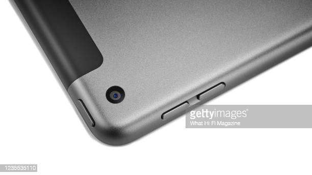 Close-up detail of a 2020 8th generation Apple iPad, taken on September 24, 2020.