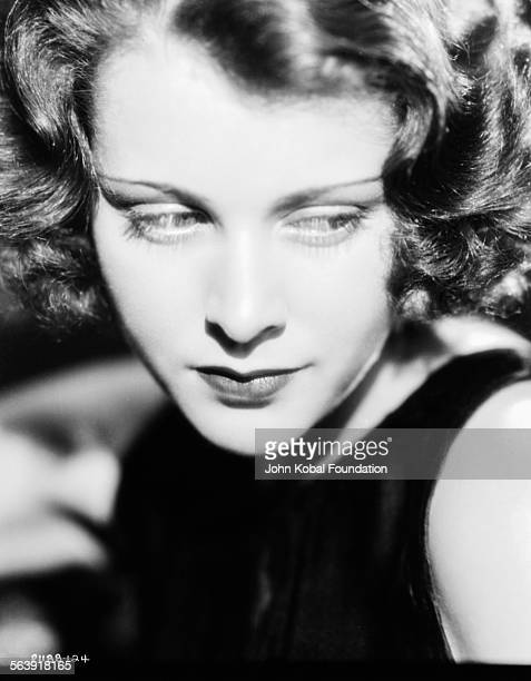 Closeup headshot of actress Frances Dee for Paramount Pictures 1931
