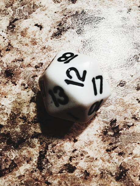 Close-Up High Angle View Of Dice