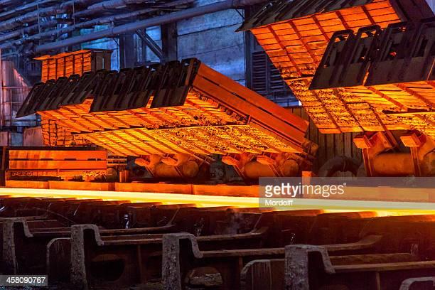 Close-up hot strip mill