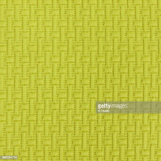 close-up image of a piece of fabric texture - 縄編み ストックフォトと画像