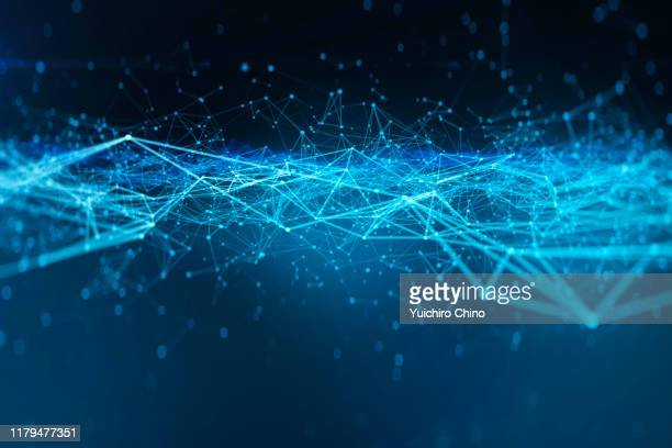 closeup network wave - computer network stock pictures, royalty-free photos & images