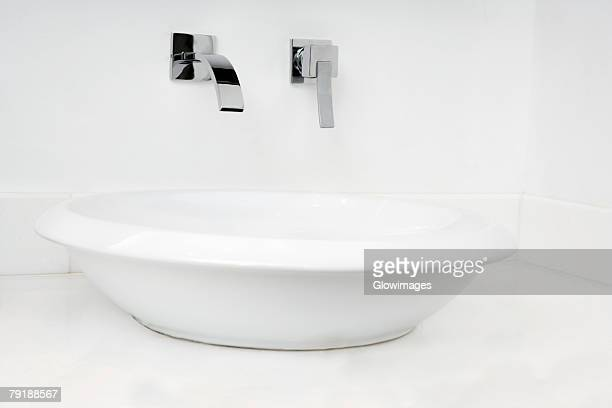 Close-up of a bathroom sink
