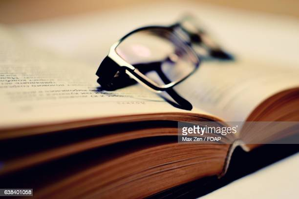 Close-up of a book
