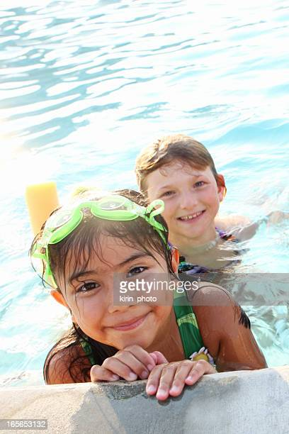 Young Girls Swimming Pool Stock Photos And Pictures  Getty Images-4020