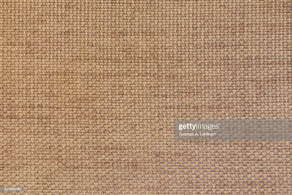 Closeup Of A Brown Furniture Fabric Texture Abstract Background
