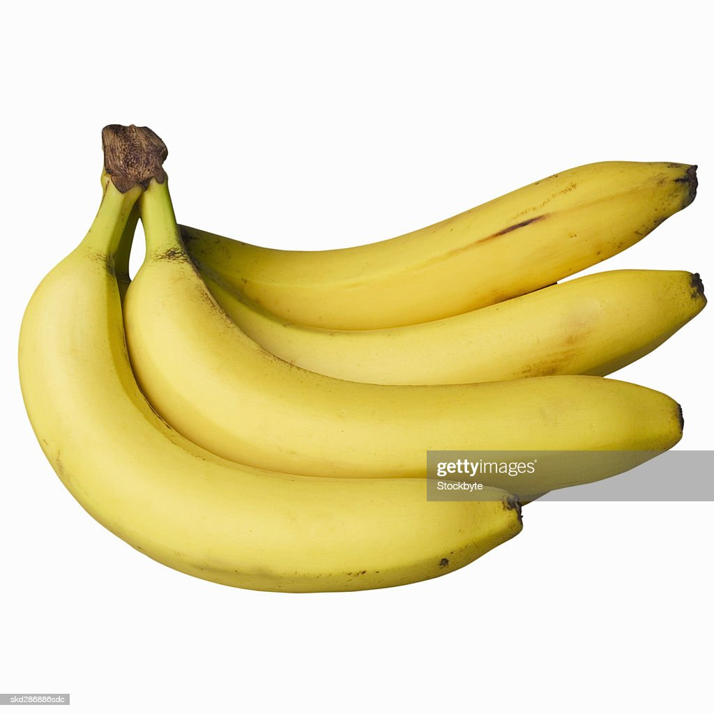 Close-up of a bunch of bananas : Stock Photo