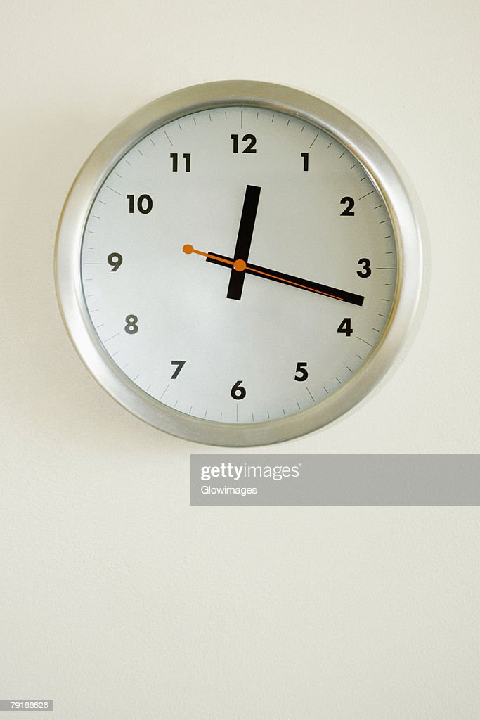 Close-up of a clock : Foto de stock