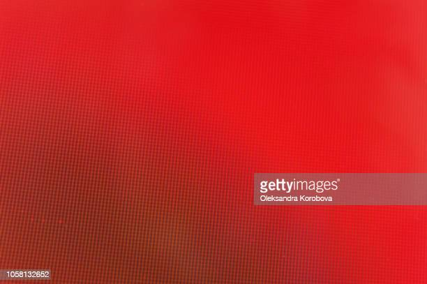 close-up of a colorful moire pattern on a computer screen. - モアレ縞 ストックフォトと画像