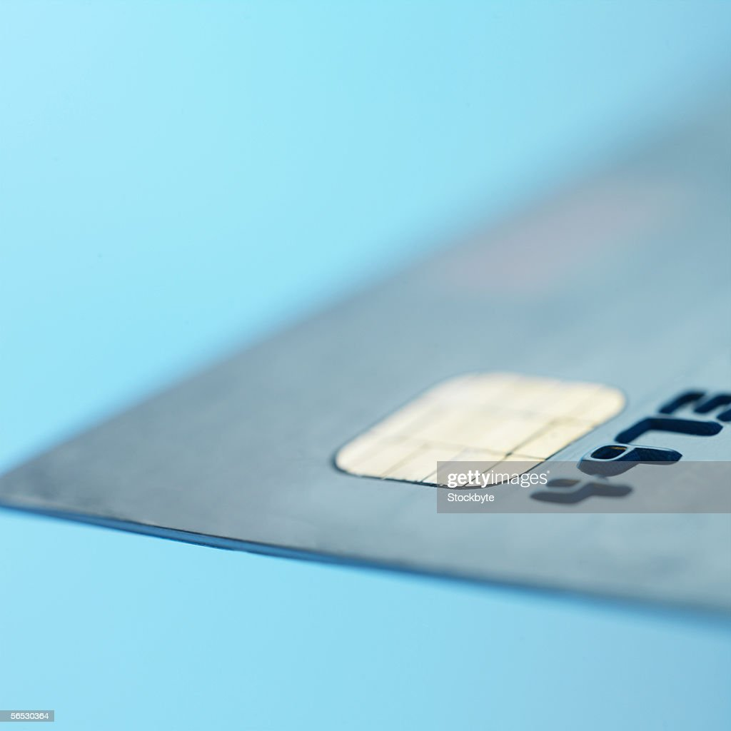 close-up of a credit card : Stock Photo