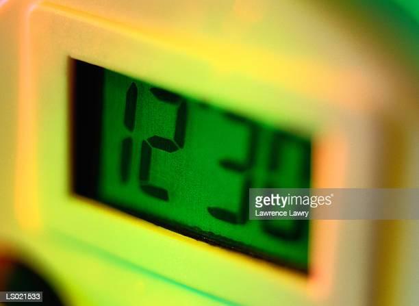 Close-up of a Digital Clock