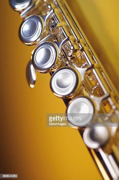 Close-up of a flute