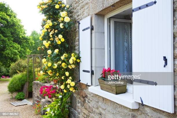Gros plan d'une fenêtre de Français