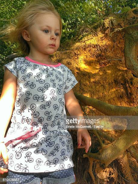 close-up of a girl looking away - mcconnell stock pictures, royalty-free photos & images