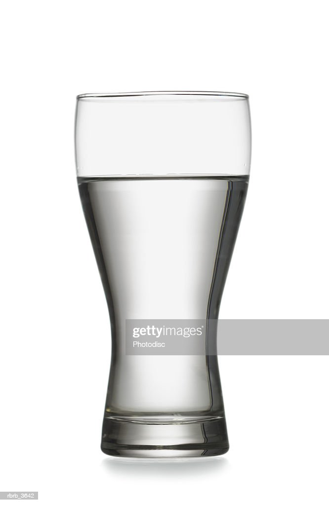 Close-up of a glass of water : Foto de stock