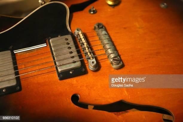 Close-up of a Guitar music instrument