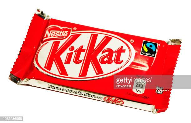 Close-up of a Kit Kat Chocolate bar.