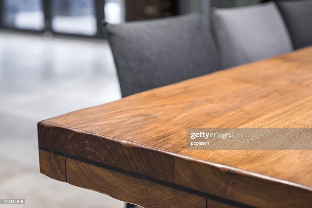 Close Up Of A Luxurious Table Corner; Elegant Furniture And Design ...