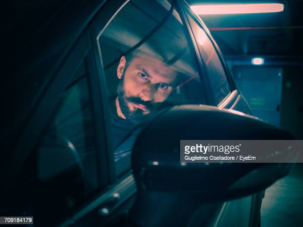 close-up of a man in car - road rage stock pictures, royalty-free photos & images