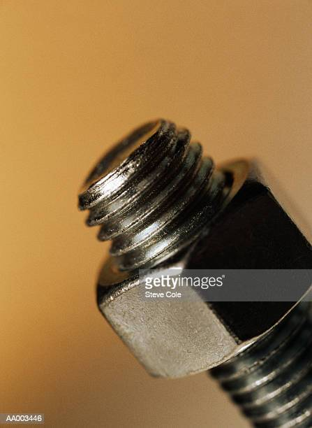 Close-up of a Nut and Bolt