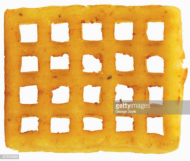 close-up of a pretzel - waffle stock pictures, royalty-free photos & images