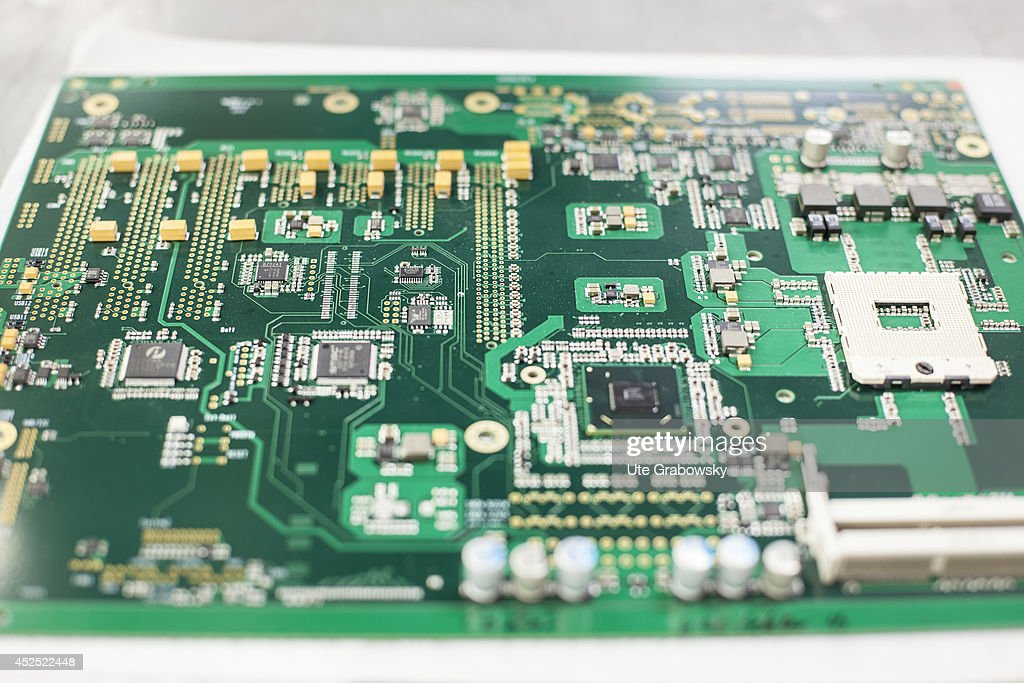 electronic circuit making equipment stock photos and pictures