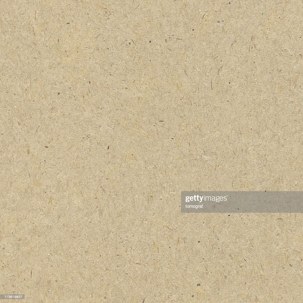 Close-up of a seamless brown recycled paper background : Stock Photo