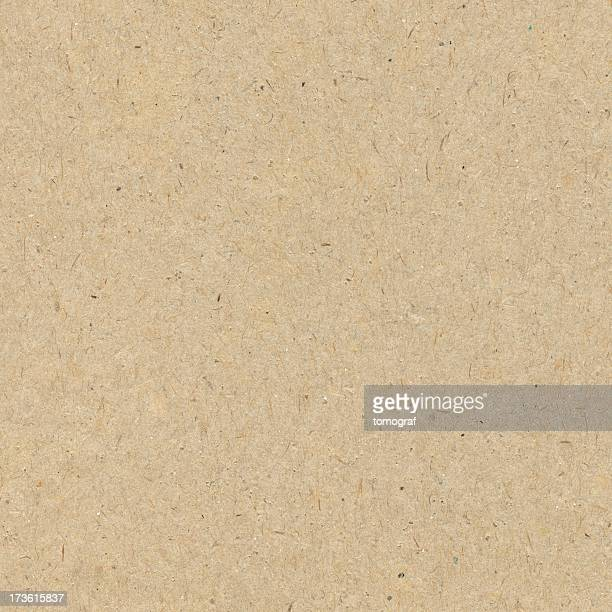 Close-up of a seamless brown recycled paper background