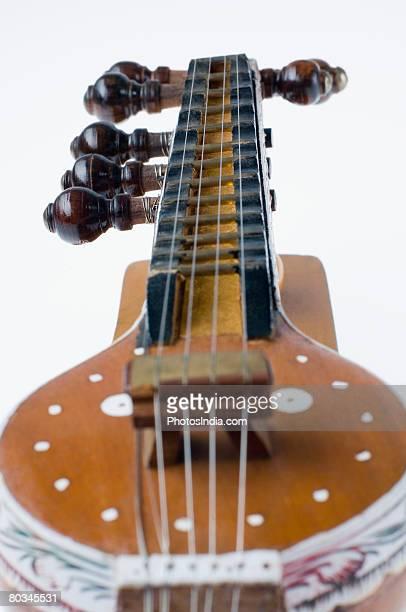 Close-up of a sitar
