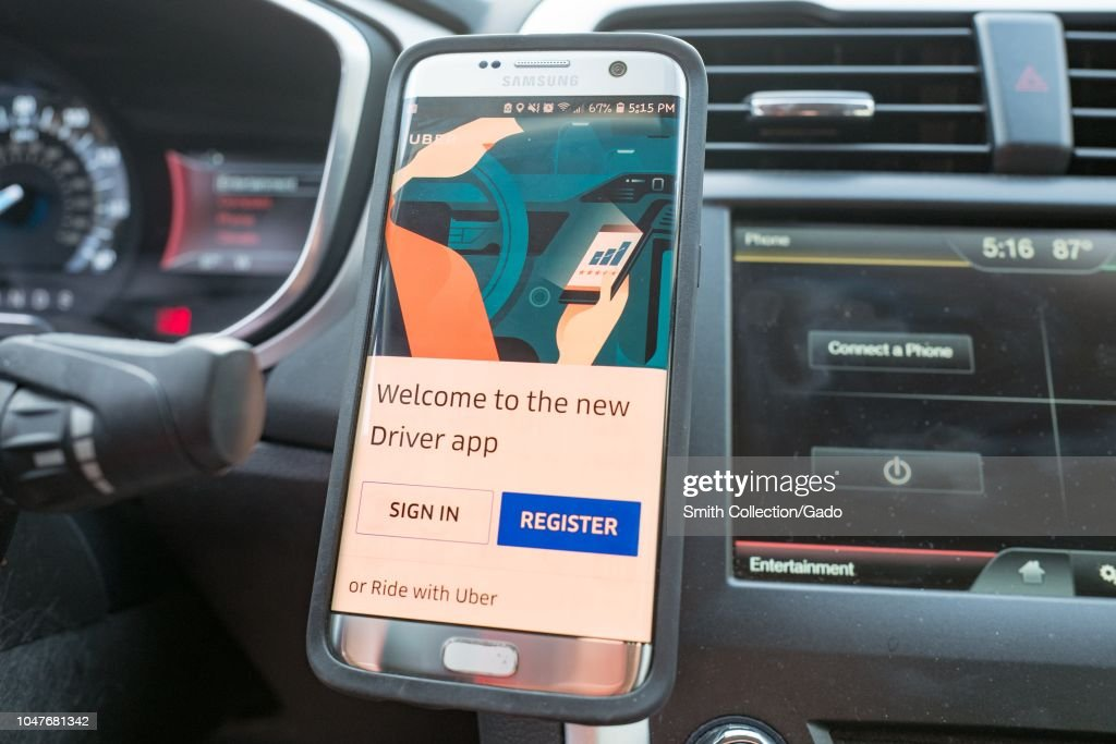 Uber Driver App : News Photo