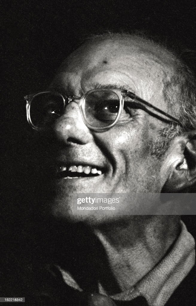 A close-up of Francis Chichester : News Photo