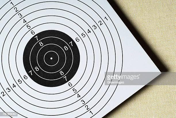 Close-up of a target
