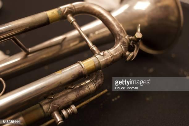 Closeup of a trumpet November 24 2013