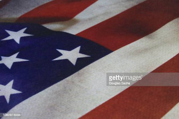close-up of a usa flag - american flag background stock pictures, royalty-free photos & images