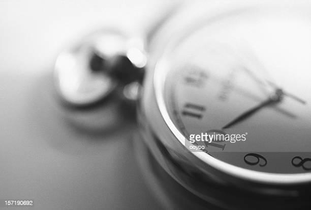 Close-up de um relógio
