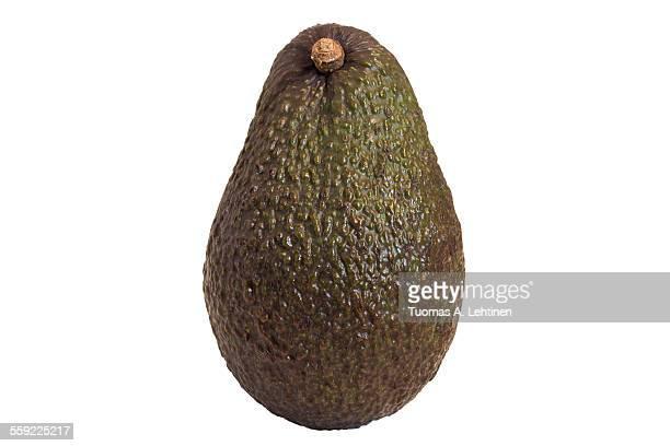 Close-up of a whole avocado