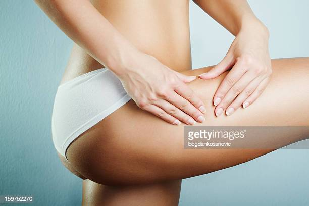 anti-cellulite - fesses culotte photos et images de collection