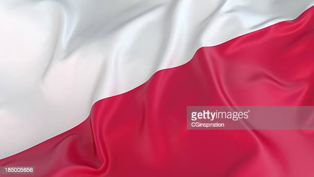 drapeau polonais - pologne photos et images de collection