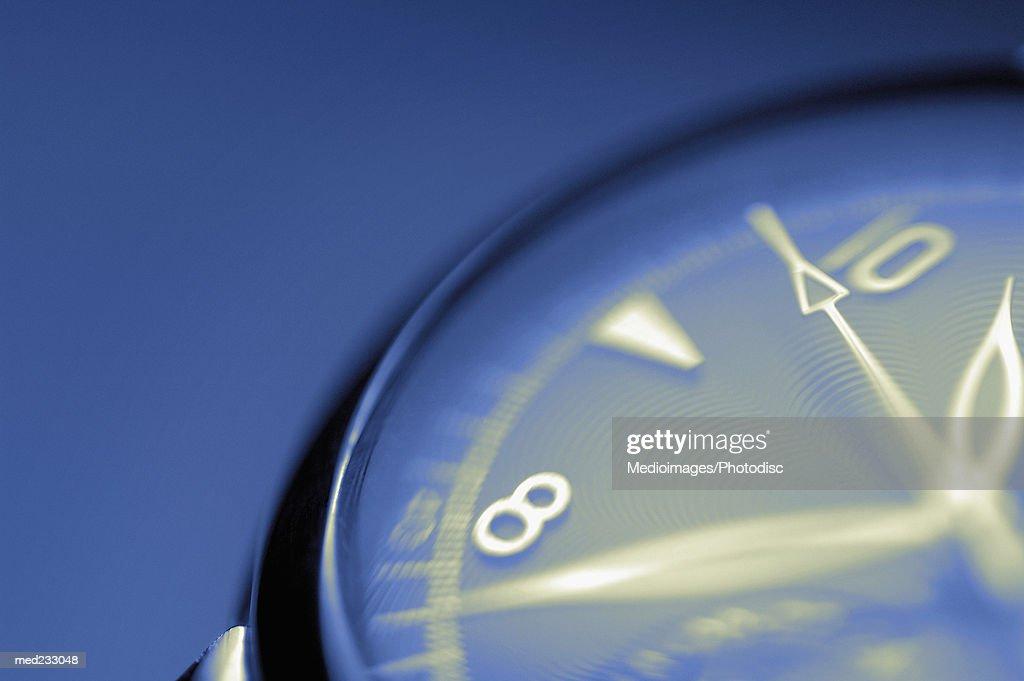 Close-up of a wrist watch : Stock Photo