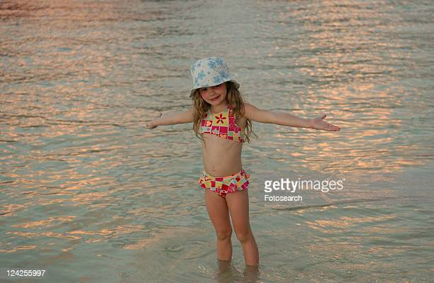 close-up of a young girl - bottomless girls stock photos and pictures