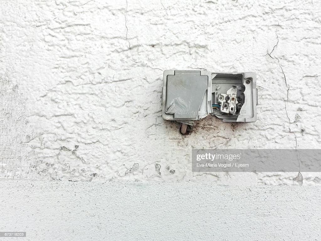 Fuse Box Band Pa Wiring Diagram Sample Opel Astra 99 Old Stock Photos And Pictures Getty Images Plug Close Up Of Abandoned