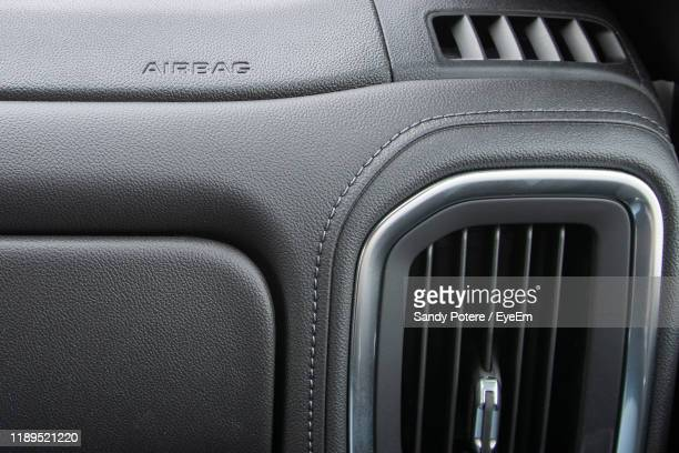 close-up of air duct in car - car decoration stock pictures, royalty-free photos & images