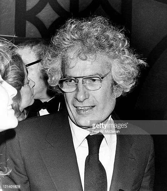 Closeup of American author Joseph Heller as he attends an unspecified event March 13 1972