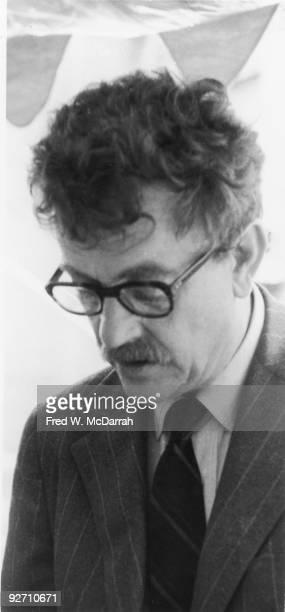 Closeup of American author Kurt Vonnegut Jr June 1 1971