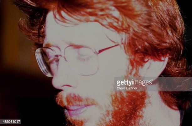Closeup of American musician Trey Anastasio of Phish as he performs at the Wetlands Preserve nightclub New York New York June 9 1990