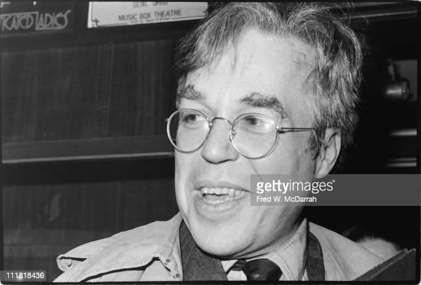 Closeup of American playwright John Guare New York New York January 31 1982