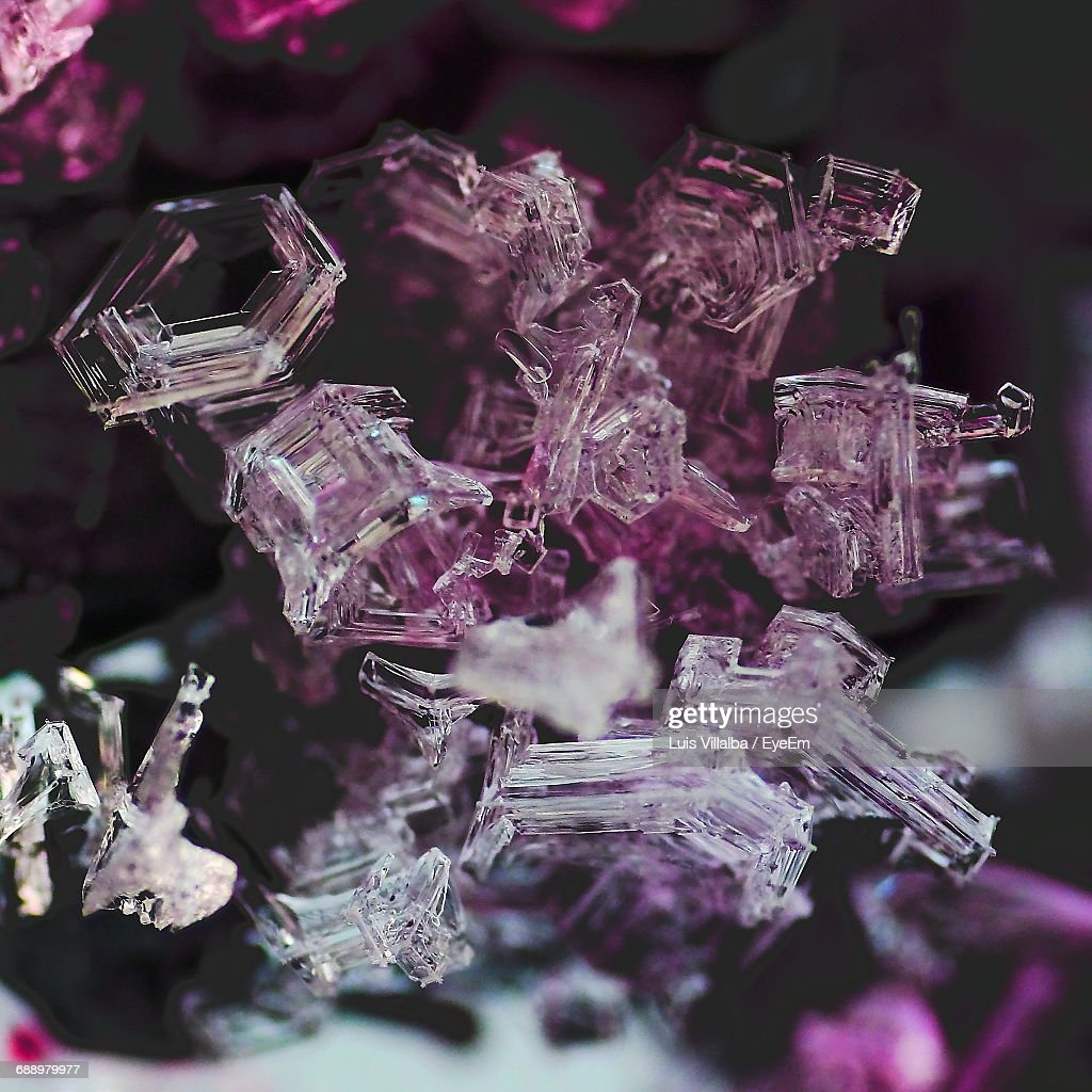 Close-Up Of Amethyst : Stock Photo